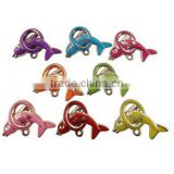Custom dolphin acrylic charms diy handmade monkey plastic charms cheap acrylic jewelry accessories