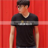 Man T-shirt T Shirt Short Sleeves Tshirt Blank Red White Black Yellow