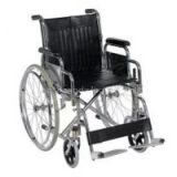 Foldable Steel Frame Wheelchair