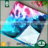 Microfiber color Thermal transfer printing beach towel -Florida sea coral