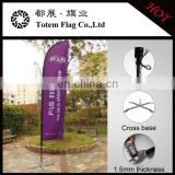 2016 Totem flag can be OEM/ODM Incase Digital printingl beach flying banner flags/Fiberglass pole flying banner