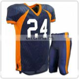 Sublimated custom cheap wholesale youth american football uniforms