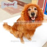 Pet accessories China Large Pet Dog Cat Lion Wigs Mane Hair Festival Party Fancy Dress Clothes Costume