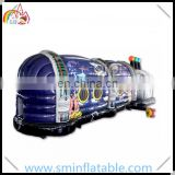 Hot selling inflatable disco bouncer, music air disco house, kids jumping bouncy house for amusement