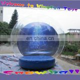 X-mas inflatable snow bubble ball inflatable snow globe for winter