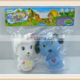 kids small rubber animal toys