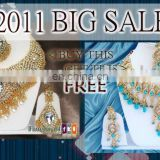 INDIAN COSTUME JEWELRY NECKLACE SET BUY 1 GET 1 FREE!!..