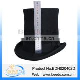 Cheap wool felt black costume top hats for sale