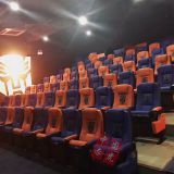 Folding cinema seats,fabric rocking cinema chair
