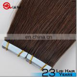 Wholesale Natural Raw Indian Tape Hair Extensions Remy Human Hair