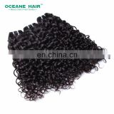 Kinky straight hair 6 inch hair weaving wholesale hair extensions