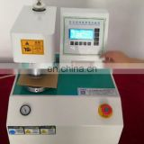 Microcomputer cardboard bursting strength tester Full automatic bursting strength tester with factory price