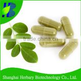 Natural nutritional supplement moringa capsule