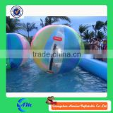 two different color China factory directly sell water ball of outdoor toy balls , inflatable water ball , bubble ball