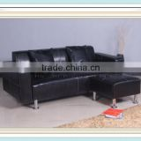 Home Furniture Leather Sectional Sofa Modern Designs Corner Sofa