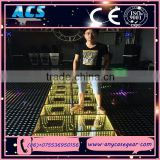 ACS Creative Decor Three-dimensional 3D Portable Led Dance Floor and LED Mirror Dance Floor for sale