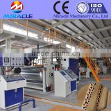 3 ply corrugated board, packing board with fluted paper making machine, for making fluted paperboard machine