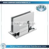 90 degree adjustable glass to wall bathroom accessories brass/stainless steel mirror satin shower hinge