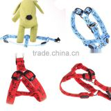 LED glow collars pet supplies, in stock dog traction luminous chest straps nylon dog harness