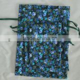 factory low price cotton gifts bag for package with drawstring