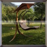 Hot sale Outdoor Garden furniture hammock Hanging wood Swing Chair