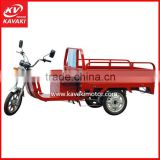 Hot sale new red popular Electric Cargo Bikes cheap tricycle for family use