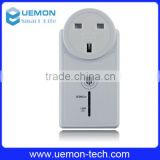 Support android/IOS APP remote control smart home Wi-Fi socket plug