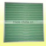 Aluminum frame air clean filter for HVAC system