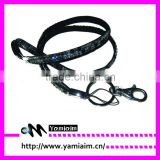 2015 promotion cheap lanyards lobster clasp bling lanyards