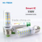 7W 12W 15W 20W 25W E27 LED Lamp 110V 127V 5730 Smart IC Bombillas Led Light Corn Bulb 24LED 36LEDs 48LEDs 56LEDs 72LEDs