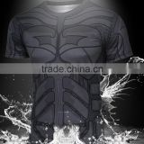 Bat man dark knight quick-drying outdoor sports breathable T-shirt