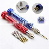 S2 Professional 5 in 1 5in1 Open Tools Kit Repair Screwdriver Set T5 T6 PH000 0.8MM -2.0MM Bit
