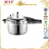 Majestic professional 304 stainless steel pressure cooker with whistle & gasket easy to use MSF-3776                                                                         Quality Choice