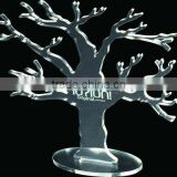 tree shape acrylic jewelry holder