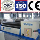 Affordable manual 3 Roll steel plate rolling machine Rolling Machine Price, W11 16X2500mm manual plate rolling machine