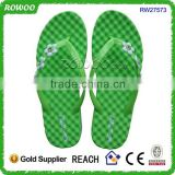 latest model bright color nude massage slipper for 2015