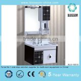 small size pvc bathroom cabinets with side shelves                                                                         Quality Choice
