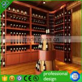 Customized Wooden Display Commercial Furniture,Antique Wine Display Stand/rack/shelf/cabinet