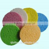 Promotional Cosmetic Facial and Makeup Removal sauna bath cellulose sponge