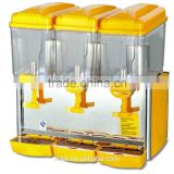 CE approved plastic juicer dispenser in drink dispensers/beverage dispensers