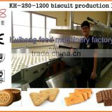 KH automatic biscuit factory machine/biscuit manufacturing plant