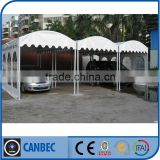 Geodesic dome tent for outdoor event