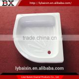 Top sale cheapest high quality base shower tray,freestanding cast iron shower trays,freestanding cast iron shower tray