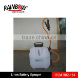 14.4V/2.2AH RBZ-154 battery operated sprayer plastic recycling machine