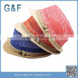 Lovely Design Kids Raffia Straw Hats Wholesale                                                                         Quality Choice