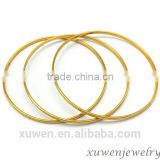 thin wire 316l stainless steel indian gold plated bangles