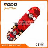 CE Certified 24V/8.8AH 1200W*2 DC burshless motor with hall sentor battery inside the deck SK-D Electric Skateboard/Longboard