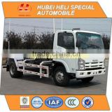 Japan technology 4x2 10CBM hook lift garbage truck 190hp in good quality for sale In China