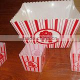 Large square Plastic Popcorn container