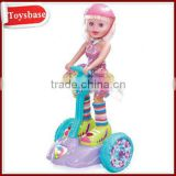 Battery operated lucky doll with dance&music